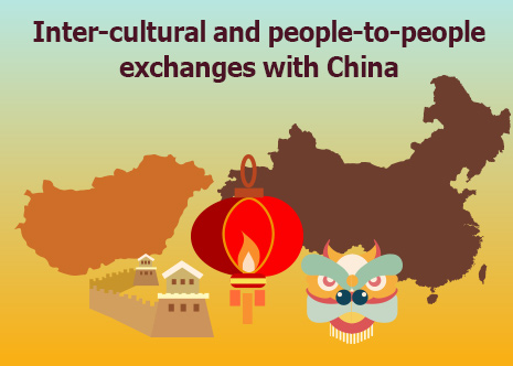 Picture: Inter-cultural and people-to-people exchanges with China