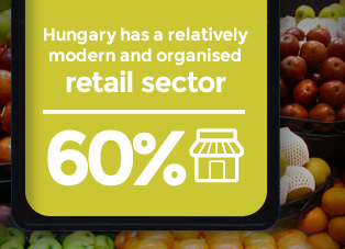 Picture: Hungary has a relatively modern and organised retail sector