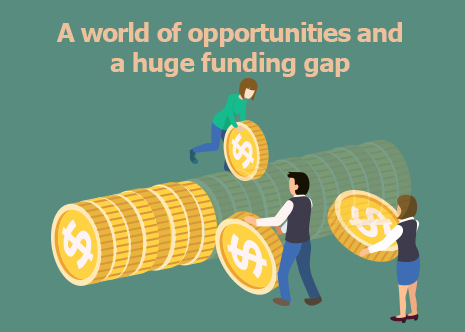 Picture: A world of opportunities and a huge funding gap