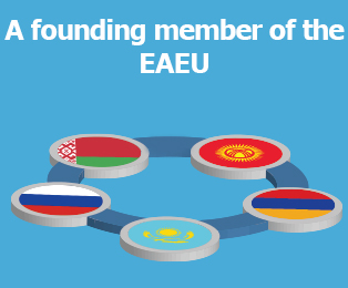Picture: A founding member of the EAEU