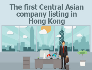 Picture: The first Central Asian company listing in Hong Kong