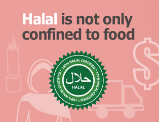 Picture: Halal is not only confined to food