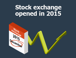 Picture: Stock exchange opened in 2015