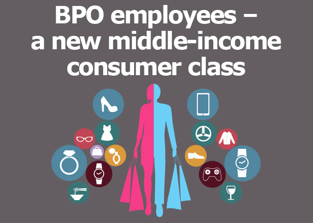Picture: BPO employees – a new middle-income consumer class