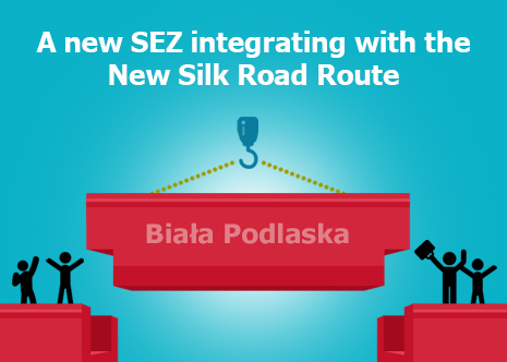 Picture: A new SEZ integrating with the New Silk Road Route