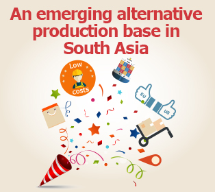 Picture: An emerging alternative production base in South Asia