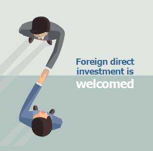 Picture: Foreign direct investment is welcomed