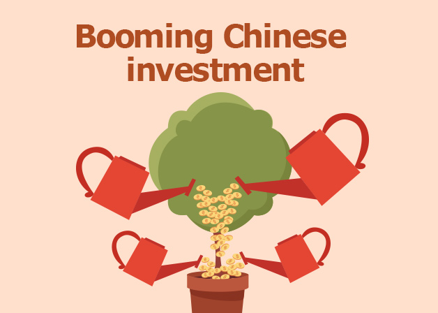Picture: Booming Chinese investment