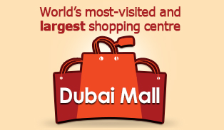 Picture: World's most-visited and largest shopping centre – Dubai Mall