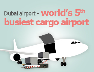 Picture: Dubai airport - world's 5th busiest cargo airport