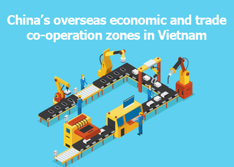 Picture: China's overseas economic and trade co-operation zones in Vietnam