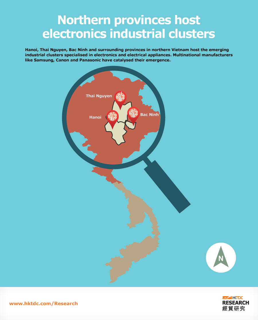 Picture: Northern provinces host electronics industrial clusters