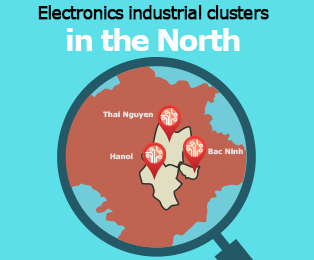 Picture: Electronics industrial clusters in the North